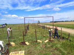 Pipe Fence Build Hands On Workshop @ Mesquite Field Farm | Nixon | Texas | United States