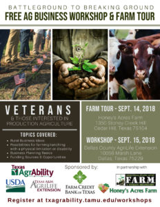 BattleGround FREE Ag Workshop - Dallas @ Dallas County AgriLife Extension Office | Dallas | Texas | United States