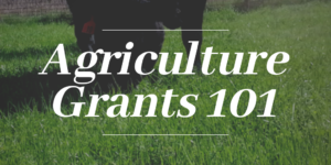 Agriculture Grants 101 @ Wallrath Extension Building